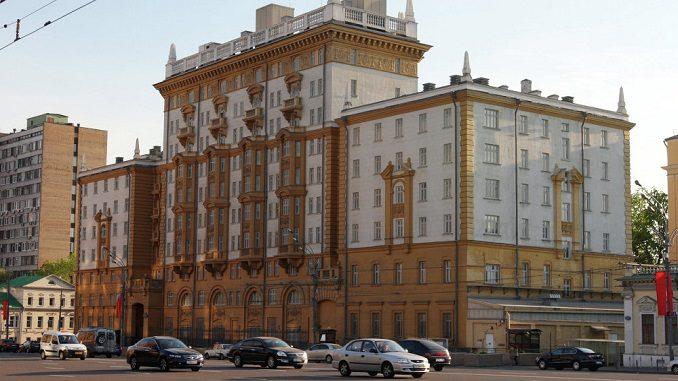 The Usa Russian Embassy 91